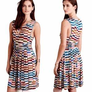 Maeve Anthropologie Sennebec Jersey Knit Dress - L